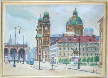 vienna_paintings_hitler