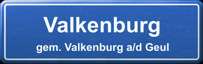 gemeentebord Valkenburg Valkenburg