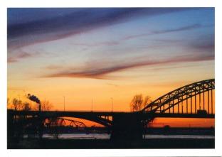 NETHERLANDS - Nijmegen bridge