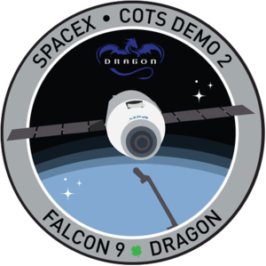 SpaceX_COTS_2_emblem