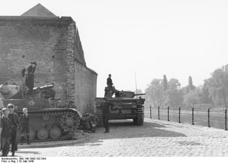 Maastricht, Panzerkampfwagen