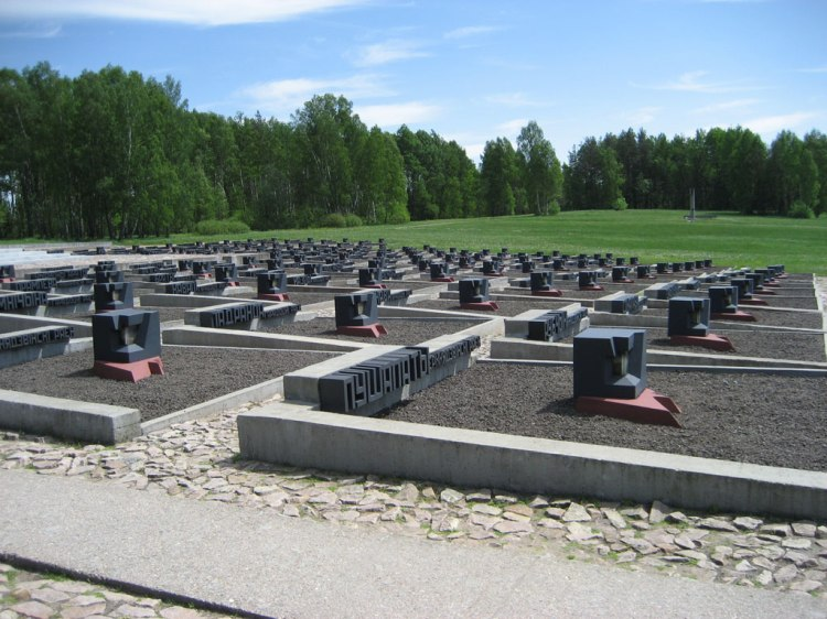 Khatyn_-_Villages tombs