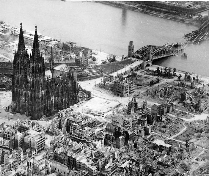 The bombing of cologne 90 minutes that changed the city for Koln ww2