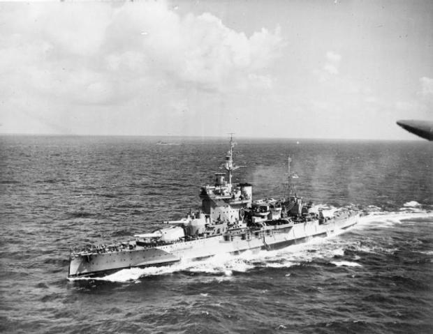 HMS_Warspite,_Indian_Ocean_1942