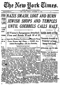 19381011_NYT_frontpage_Kristallnacht