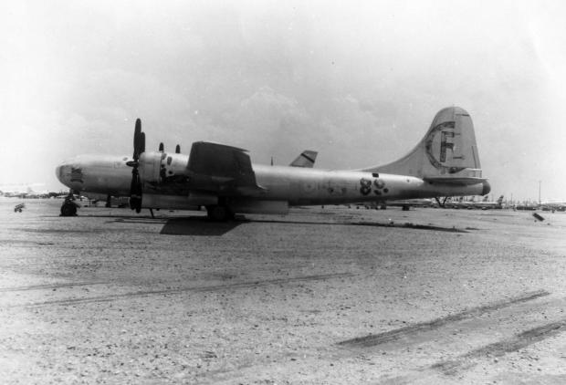 Martin-Omaha-B-29-35-MO-Superfortress-44-27297-Bockscar-at-Davis-Monthan-AFB