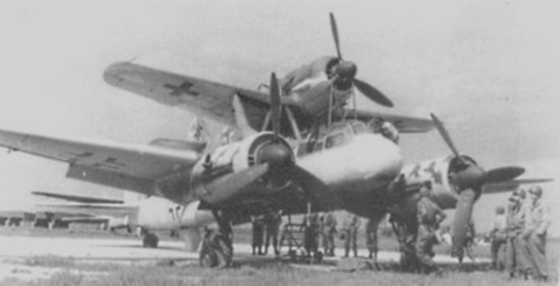 Mistel-Flying-Bomb