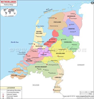 netherlands-political-map