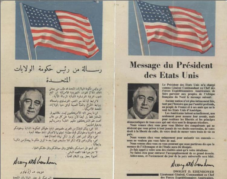 Operation_Torch_-_message_from_the_president_of_United_States_to_the_citizens_of_Casablanca