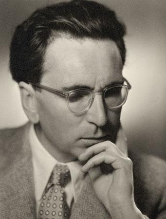 Viktor Frankl, österr. Psychologe und Arzt. Photographie. Um 1949.