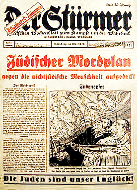 Der_Stürmer_Christian_blood