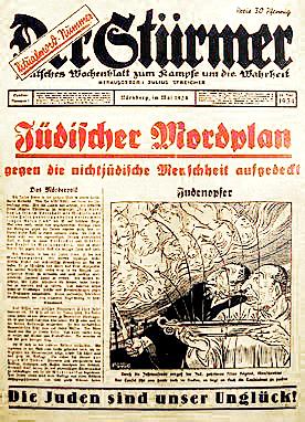 Der_Stürmer_Christian_blood