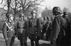 Karl Plagge in full uniform