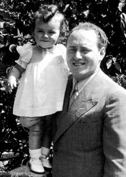 Walter Suskind & daughter