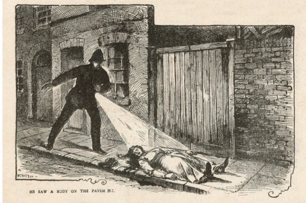 Image result for jack the ripper's first victim is found