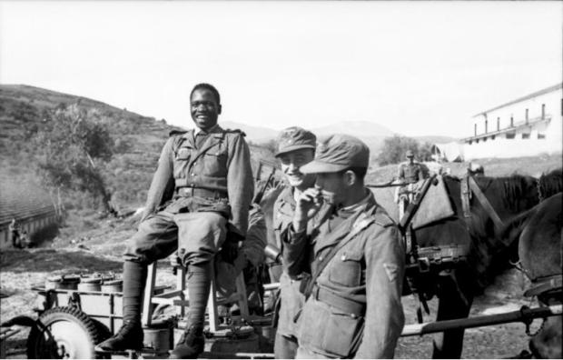 """Griechenland, Soldaten der """"Legion Freies Arabien"""""""
