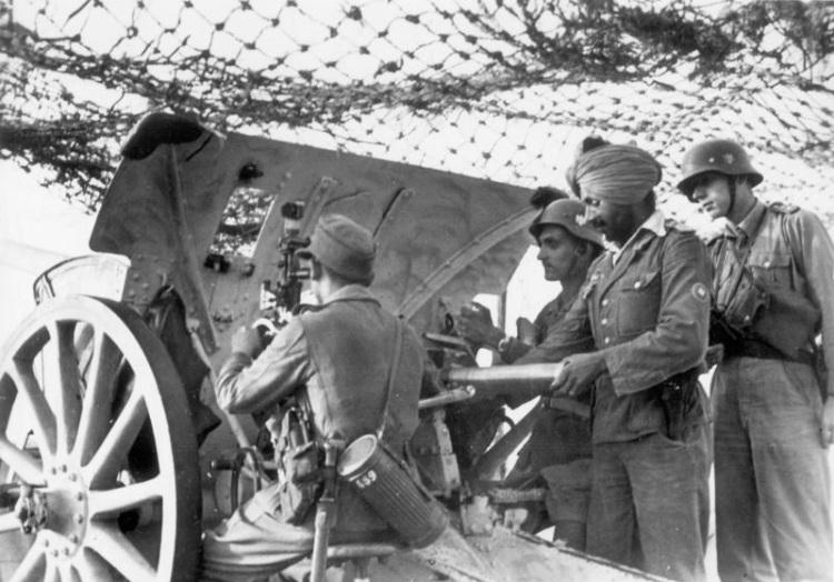 """Soldaten der Legion """"Freies Indien"""""""