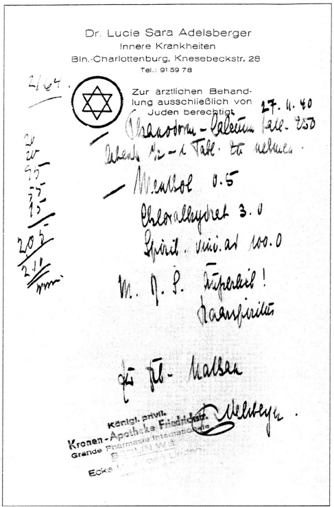 Figure-3-Prescription-written-by-Lucie-Adelsberger-for-Ms-Helen-Nathan-in-Berlin-Dr