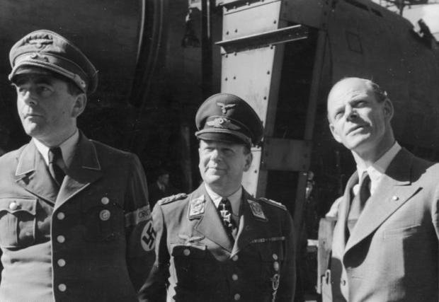 A. Speer, E. Milch, W. Messerschmitt