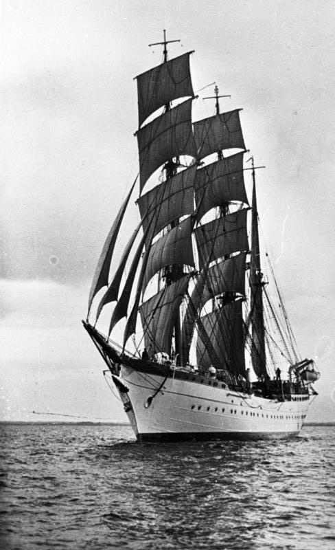 "Segelschulschiff ""Horst Wessel"""