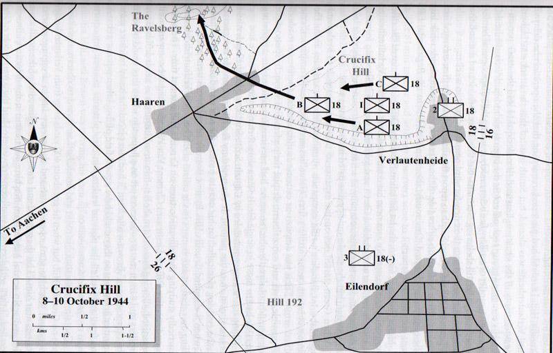 crucifix-hill-map-18th-ir