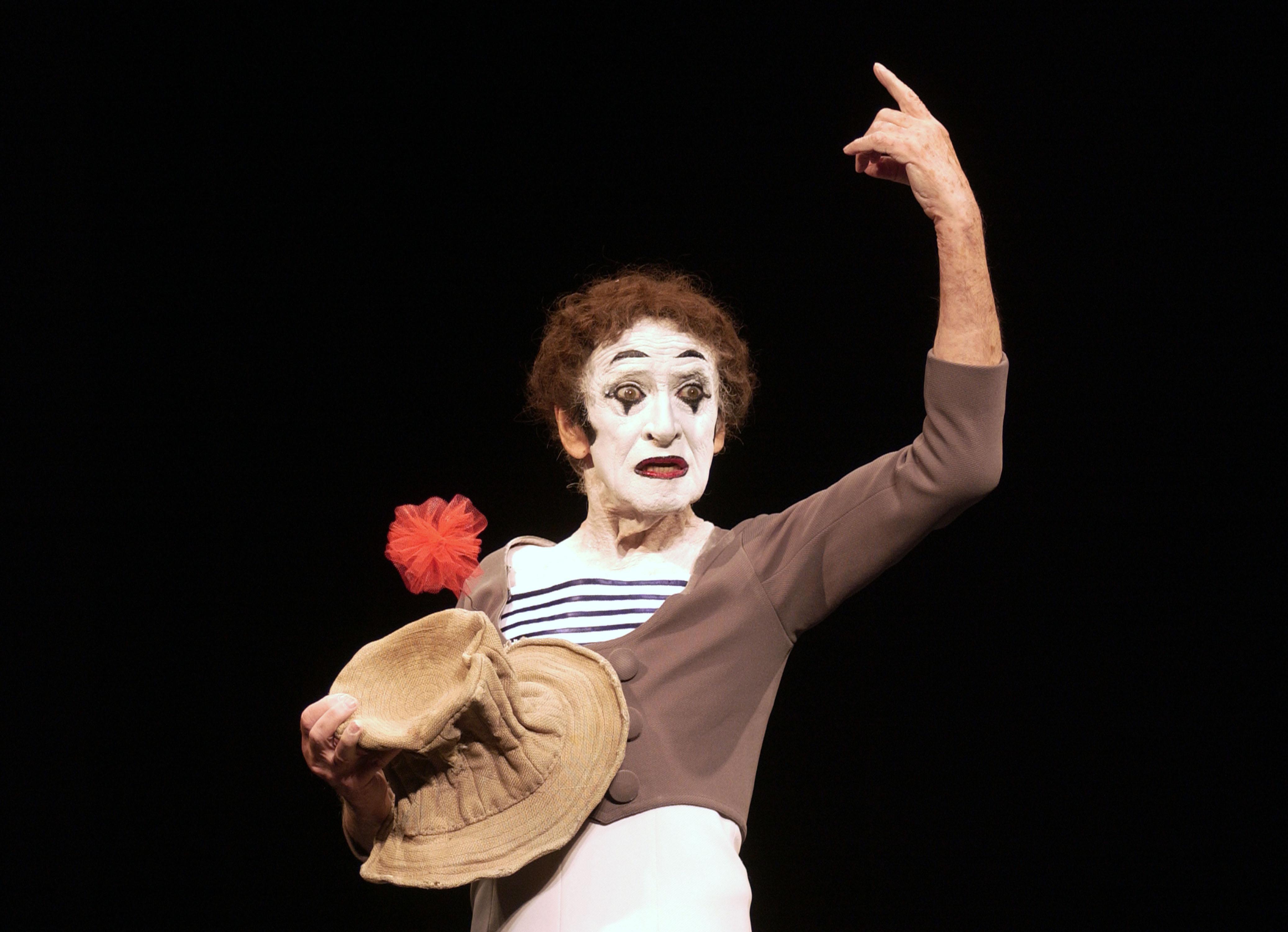 Marcel Marceau Photo Call