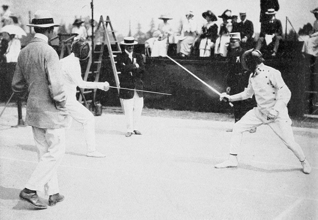 1912_fencing_patton_and_mas_latrie