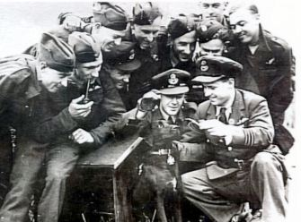 Guy Gibson VC, Dambusters hero with his devoted dog Nigger