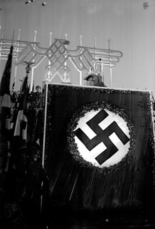 Reichsparteitag, Rede Adolf Hitlers