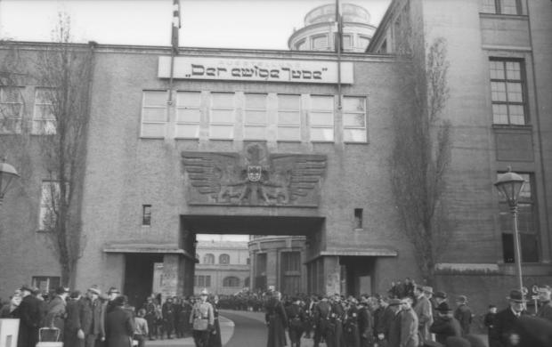 """München, Ausstellung """"Der ewige Jude"""""""