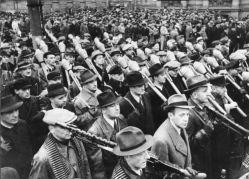 Vorbeimarsch des Volkssturms an Goebbels, Berlin