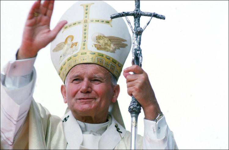 John-Paul Ii In Zaire In August, 1985.