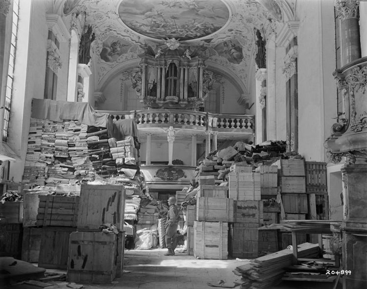 looted_art_-_german_loot_stored_at_schlosskirche_ellingen_-_ellingen_bavaria_-_germany
