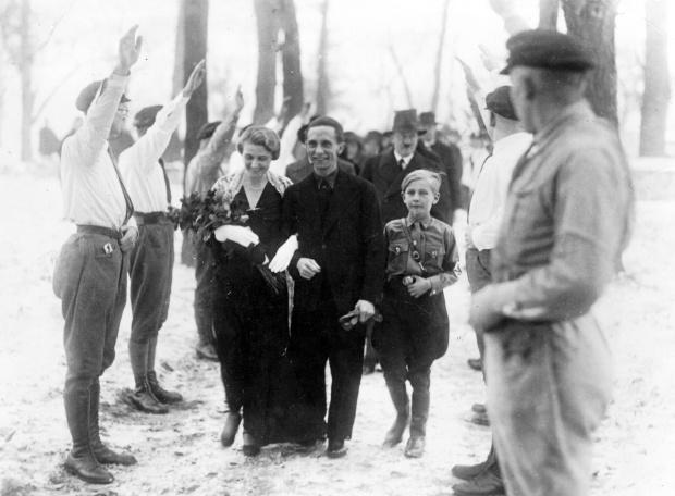 Wedding of Dr. Josef Goebbels and Magda Goebbels