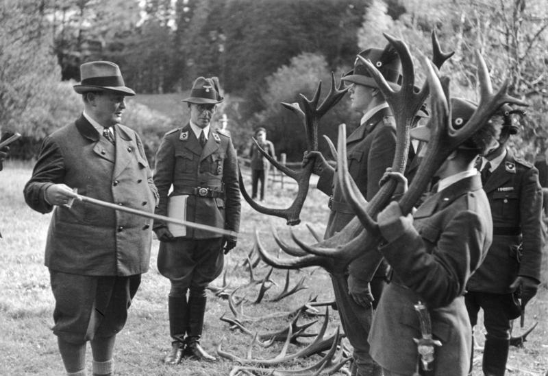 Hermann Göring auf der Jagd