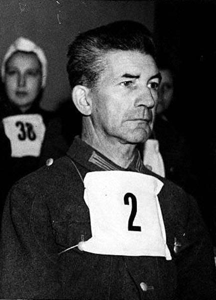 Nuremberg Trial Suspect Fritz Klein, Belsen Camp Doctor