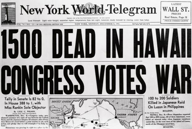 on War Fatalities in Hawaii