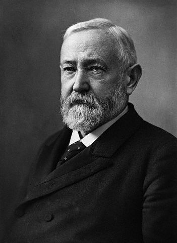 Portrait of President Benjamin Harrison