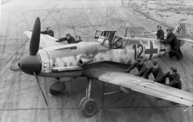 Flugzeug Messerschmitt Me 109
