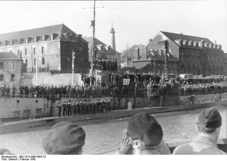 Lorient, Einlaufen von U-123