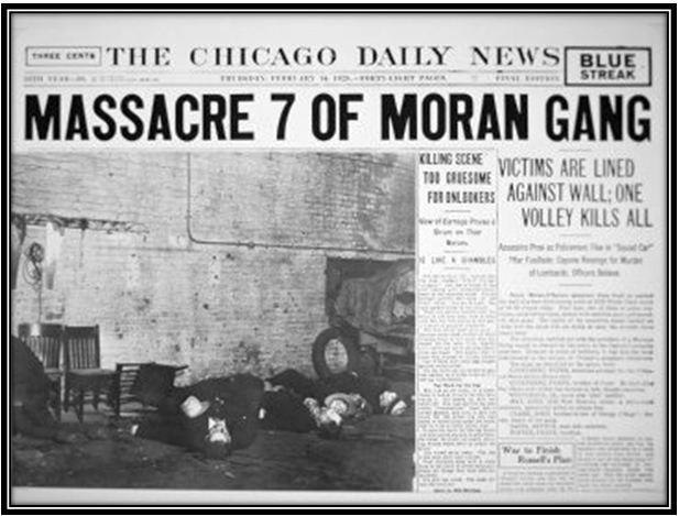 saint valentine's day massacre | history of sorts, Ideas