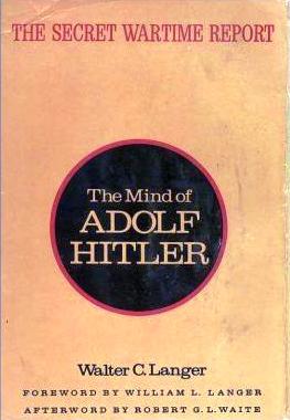 Langer study of hitler