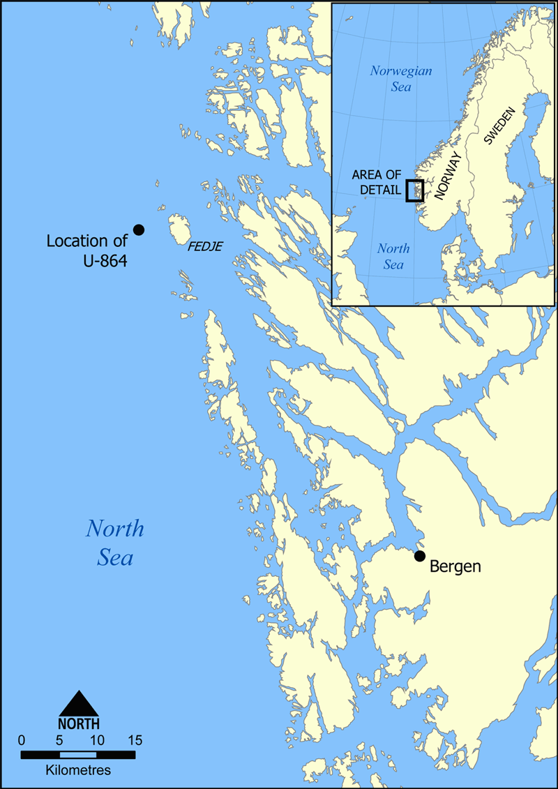 u-864_map
