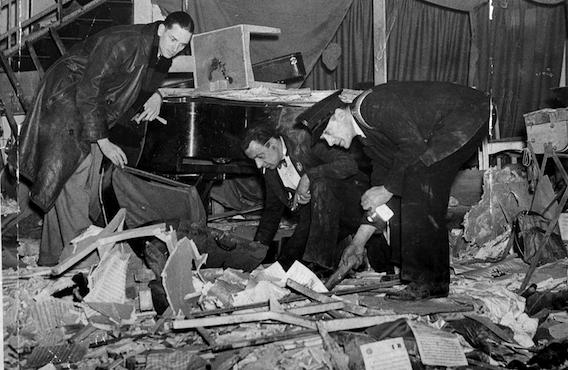 Air Raids over Britain during  World War II