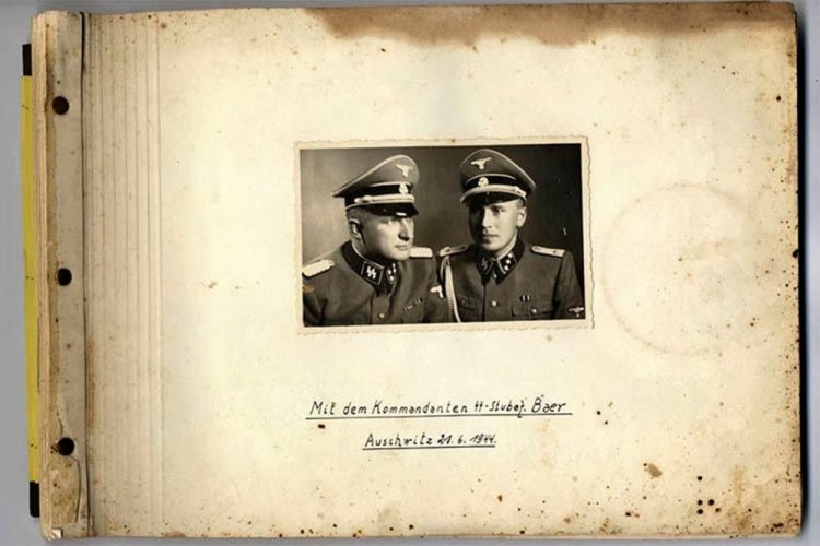 Karl Hoecker album Laughing at Auschwitz
