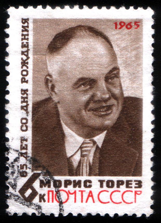 800px-USSR_stamp_M.Thorez_1965_6k