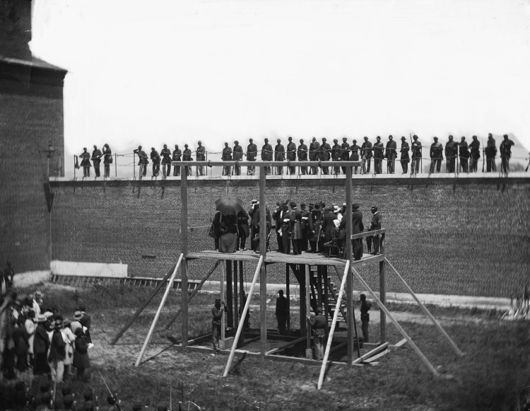 Execution of the Lincoln conspirators, 1865 1