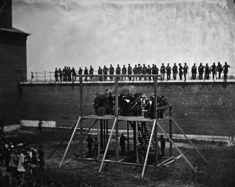 Execution of the Lincoln conspirators, 1865 2