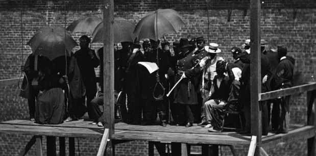 Execution of the Lincoln conspirators, 1865 3
