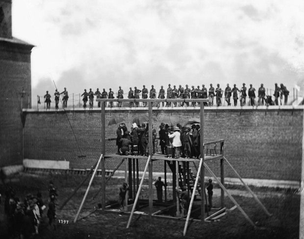 Execution of the Lincoln conspirators, 1865 4